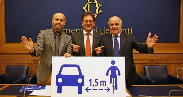 disegno di legge salvaciclisti