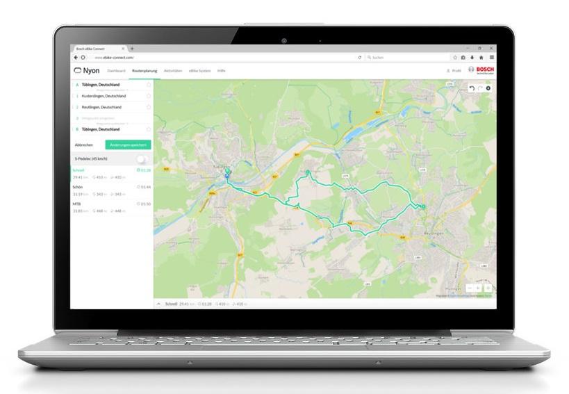 Bosch eBike OnlinePortal