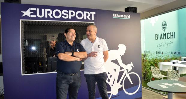 Bianchi Cafè & Cycles ed Eurosport