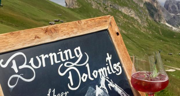 Burning Dolomites
