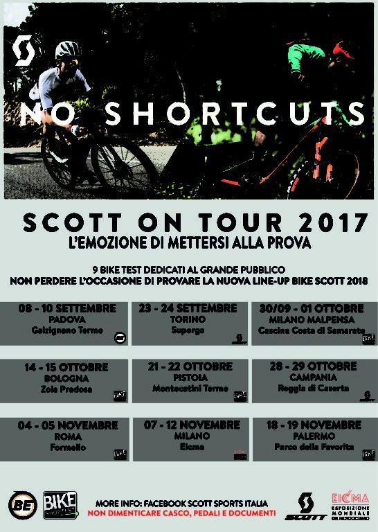 Scott on tour 2017