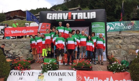 campioni dh 2018 pila Campionati italiani assoluti