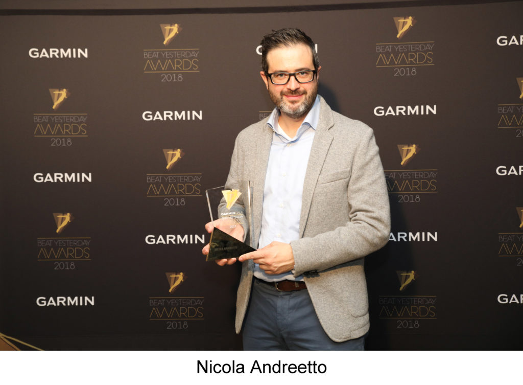 Garmin Gala 2018 Beat Yesterday Awards